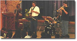 Austin Jazz Workshop in the schools