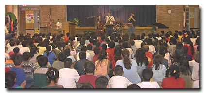 Austin Jazz Workshop in the public schools