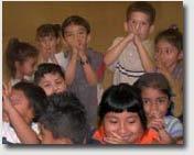 Kids enjoying a performance