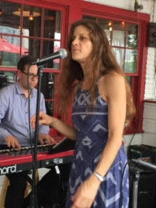 Larisa Montanaro and Matt Russell lay down the Gershwin.